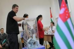 Выборы в парламент Абхазии признаны состоявшимися в 16 из 35 округов