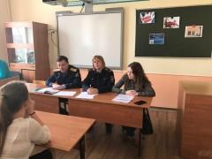 В Новороссийске замруководителя следственного отдела СКР по краю провел правовой час со школьниками