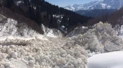 В горных районах Сочи лавиноопасно