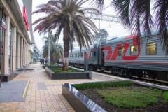 В майские праздники в направлении Сочи пустят дополнительные поезда