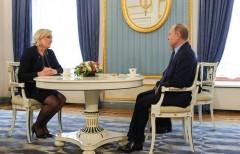Владимир Путин встретился с Марин Ле Пен