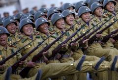 КНДР готова наносить удары в ответ на военные учения США и Южной Кореи