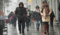 В Москве синоптики прогнозируют мокрый снег и заморозки