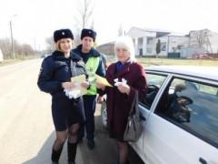 Полицейские Отрадненского района провели акцию «Послание водителю»