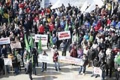 Кубанские фермеры провели митинг за продление продовольственных санкций
