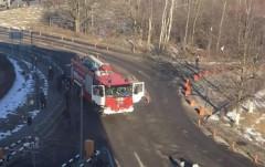 У аэропорта Домодедово пожарная машина сбила пешеходов, одного насмерть