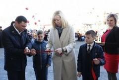 В Прикубанском округе Краснодара открылась новая начальная школа