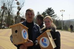 «Ростелеком» в Майкопе выступил партнером фестиваля скворечников