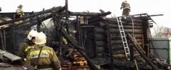 В результате пожара в Ижевске погибли пять человек, в том числе двое детей