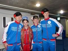 Российские фигуристы стали вторыми на командном чемпионате мира в Токио