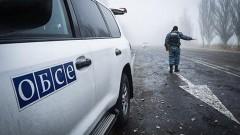 Под Луганском при подрыве автомобиля ОБСЕ погиб сотрудник миссии