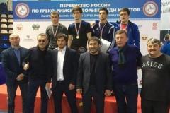 Донские борцы завоевали на первенстве России три медали