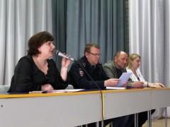 Ставропольские стражи порядка проводят профилактические встречи с молодежью
