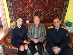 На Ставрополье следователи поздравили ветеранов Великой Отечественной войны с 72-й годовщиной Великой Победы
