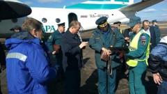 Самолет МЧС доставил гумпомощь для пострадавших от пожара в Иркутской области