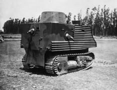 Самым уродливым танком в истории назван Bob Semple