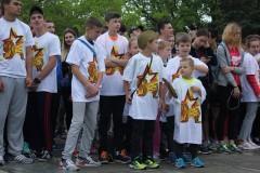 Более 700 жителей Сочи пробежали эстафету Победы