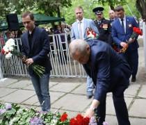 В Невинномысске почтили память воинов, погибших в 1942-1943 годах при освобождении города