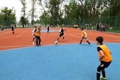 В Армавире открылась универсальная спортивная площадка