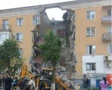 В Волгограде при взрыве газа в жилом доме обрушился подъезд