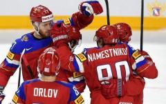 Сборная России по хоккею побила полувековой рекорд сборной СССР