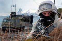 Американские военные замерзли во время учений у российской границы