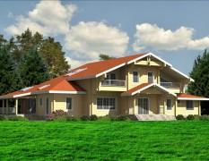 Проект ДКБ 369 от «Доминант» – дом с «русской душой»