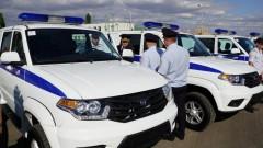 В Грозном автопарк ППСП пополнился семью машинами «УАЗ Патриот»