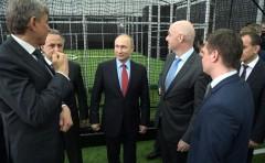 Владимир Путин на Кубани посетил «Академию ФК «Краснодар»