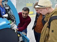 Международный аэропорт Сочи проводит экскурсии для победителей фестиваля «РобоФест»