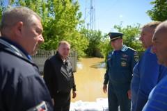 В двух районах Адыгеи стала уходить «большая вода»