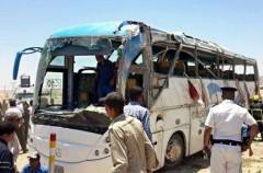 В Египте боевики напали на автобус, перевозивший группу христиан