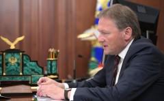 Владимир Путин в Москве встретился с Уполномоченным по защите прав предпринимателей Борисом Титовым