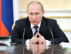 Владимир Путин поприветствовал делегатов и гостей XVII съезда Коммунистической партии РФ в Москве