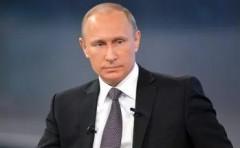 Владимир Путин поздравил Главу Азербайджана с Днем Республики