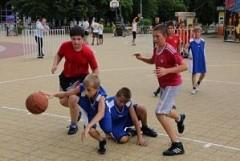 Стартовал Всекубанский турнир по уличному баскетболу среди детских дворовых команд