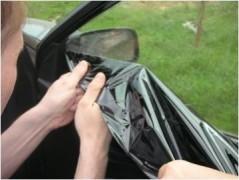 В Калмыкии водителям придется снять тонировку