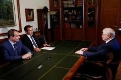 Губернатор Кубани встретился с лидером партии «Справедливая Россия»