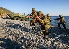 Морскую пехоту Каспийской флотилии перебросили в Крым