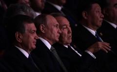 Владимир Путин посетил концерт, приуроченный к открытию саммита Шанхайской организации сотрудничества в Астане