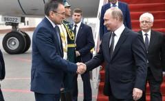 Президент России прибыл в Астану для участия в заседании Совета глав государств – членов Шанхайской организации сотрудничества