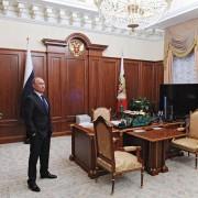 Путин показал школьникам свой рабочий кабинет