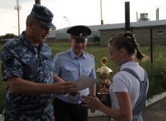 На Ставрополье полицейские соревновались в летнем служебном биатлоне