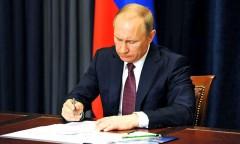 Путин уволил ряд глав региональных управлений СК, МВД и ФСИН