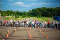 В Курганинске полицейские и общественники организовали велопробег