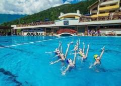 В горах Сочи пройдет турнир по синхронному плаванию