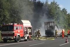 В Баварии попал в ДТП и загорелся туристический автобус, свыше 30 пострадавших