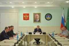 Мурат Кумпилов провел встречу с новым начальником УФСИН по Адыгее