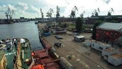 В Петербурге ликвидирован пожар на строящейся плавучей АЭС