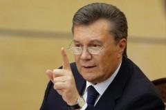 Янукович надеется на возвращение Крыма Украине